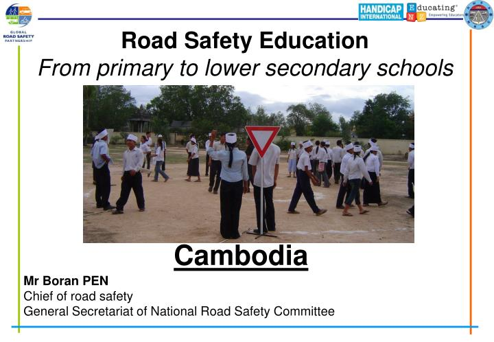 road safety education from primary to lower secondary schools n.