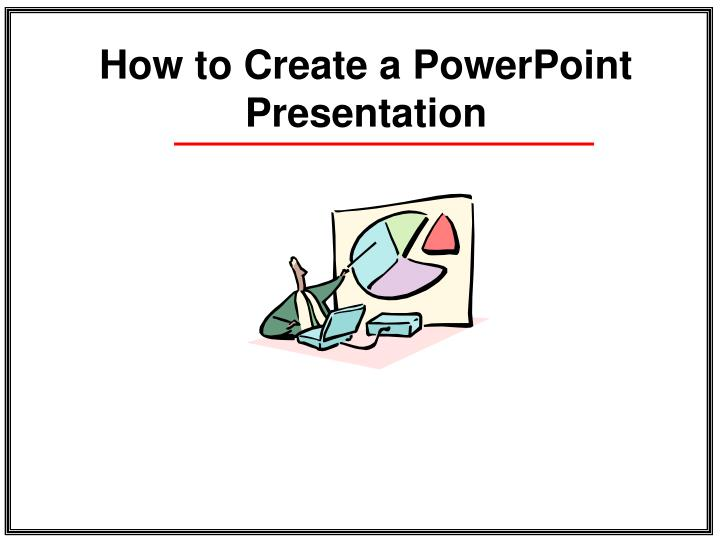 how to create a powerpoint presentation n.