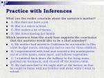 practice with inferences6