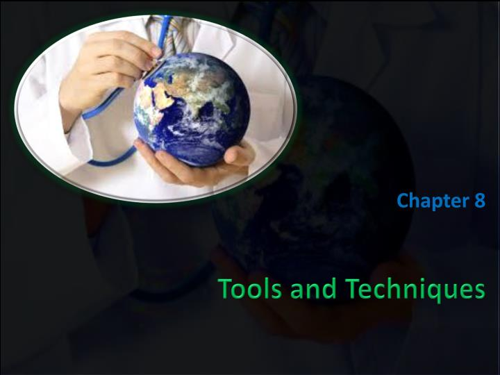 tools and techniques n.