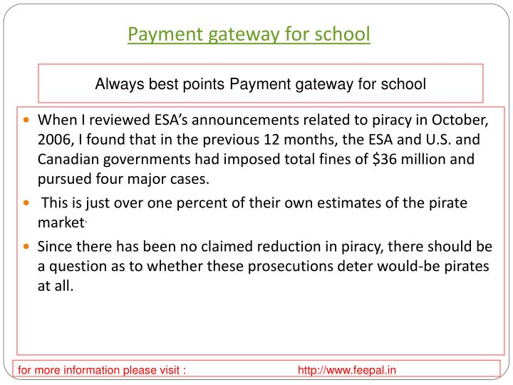 payment gateway for school n.