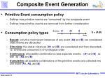 composite event generation
