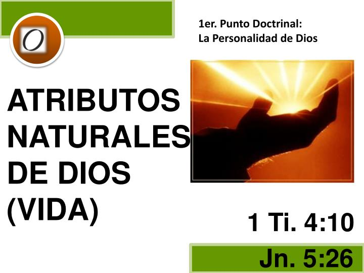 1er. Punto Doctrinal: