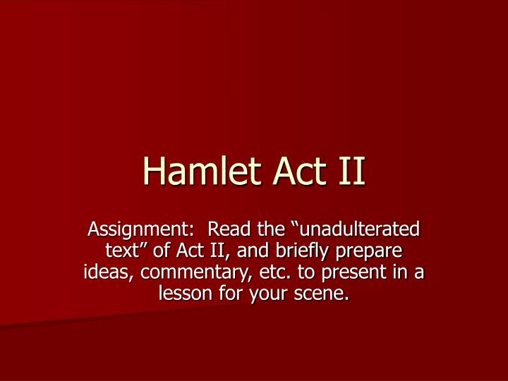 commentary on hamlet's soliloquy Hamlet commentary provides a comprehensive description of each act with explanations and translations for all major quotes.
