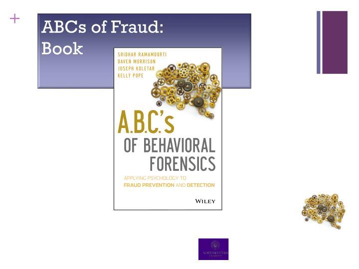 ABCs of Fraud: