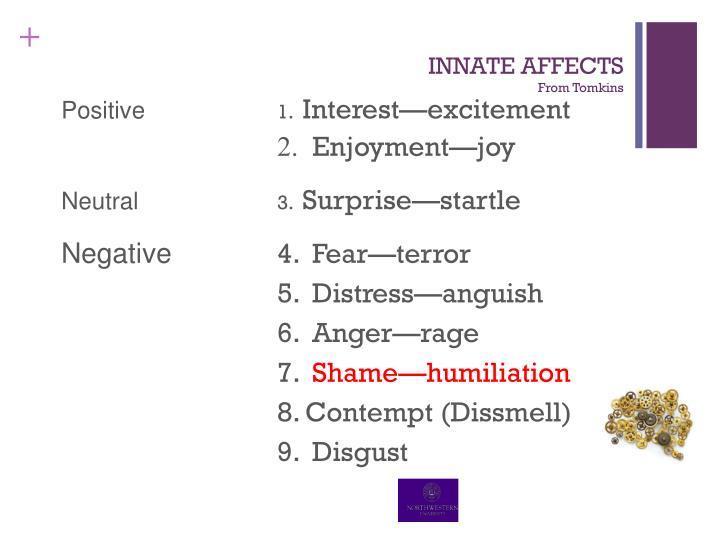 INNATE AFFECTS