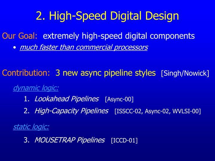 2. High-Speed Digital Design