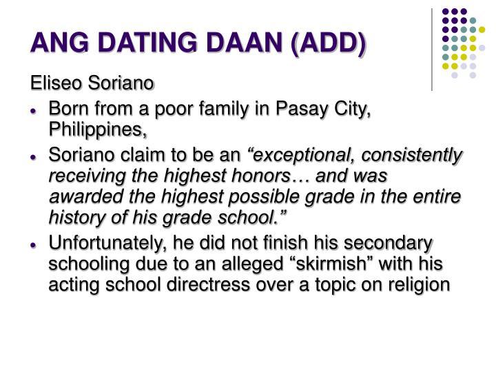 ang dating daan logo meaning