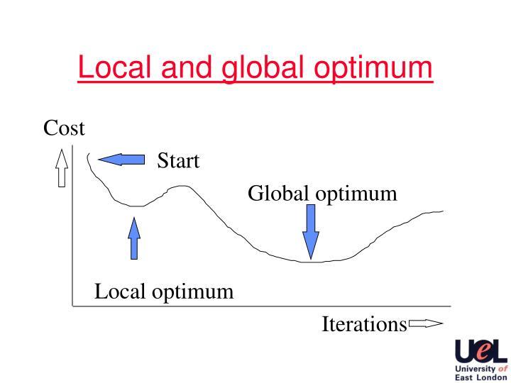 Local and global optimum