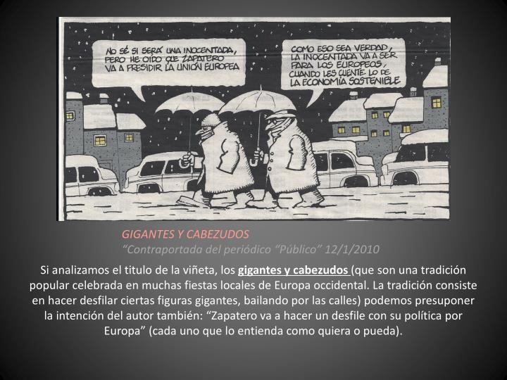GIGANTES Y CABEZUDOS
