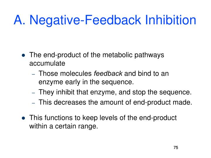 A. Negative-Feedback Inhibition