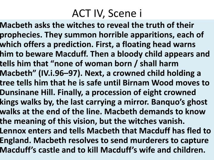 ACT IV, Scene