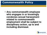 commonwealth policy1