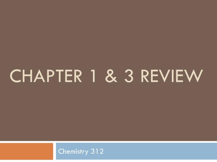 chapter 1 3 review n.