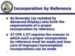 incorporation by reference3
