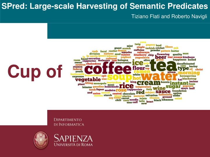 spred large scale harvesting of semantic predicates n.