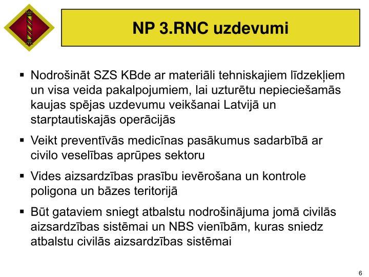 NP 3.RNC uzdevumi