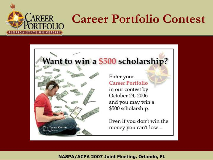 Career Portfolio Contest