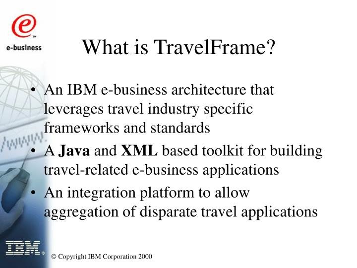 What is travelframe