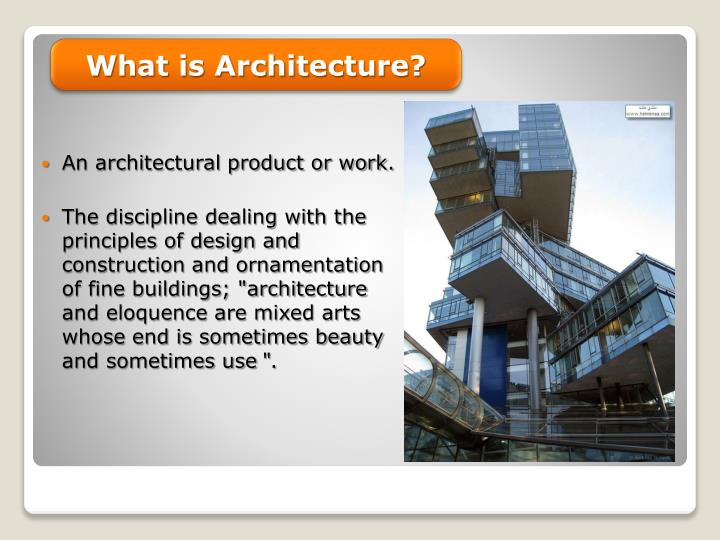 What is Architecture?