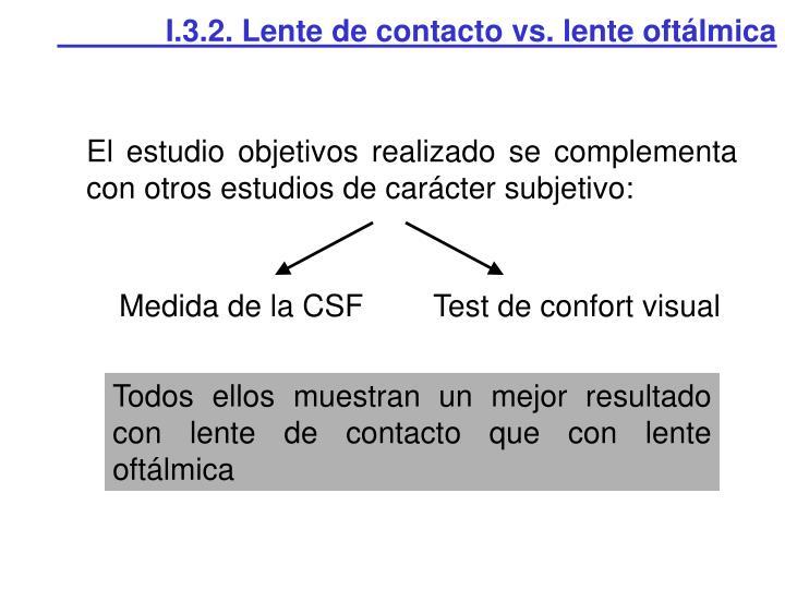 I.3.2. Lente de contacto vs. lente oftálmica