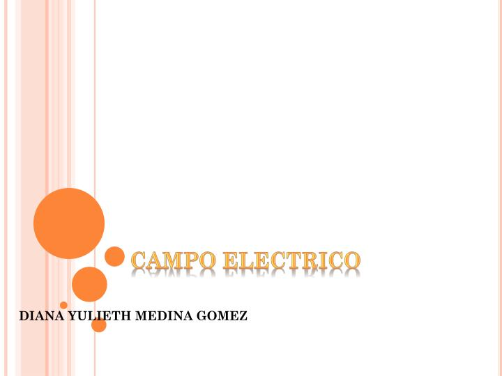 campo electrico n.