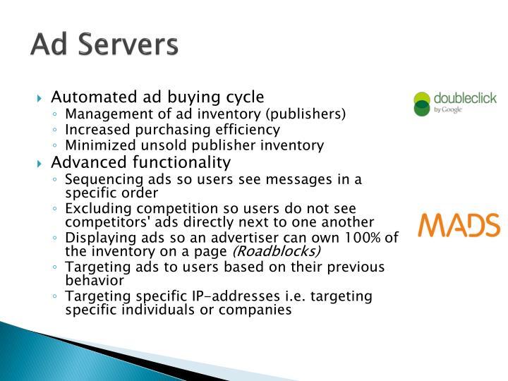 Ad Servers