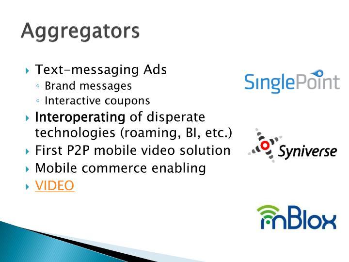 Aggregators