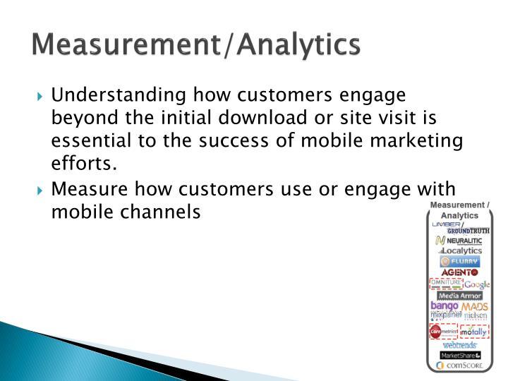 Measurement/Analytics