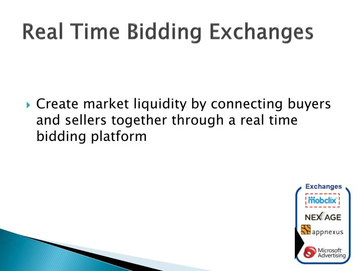 Real Time Bidding Exchanges