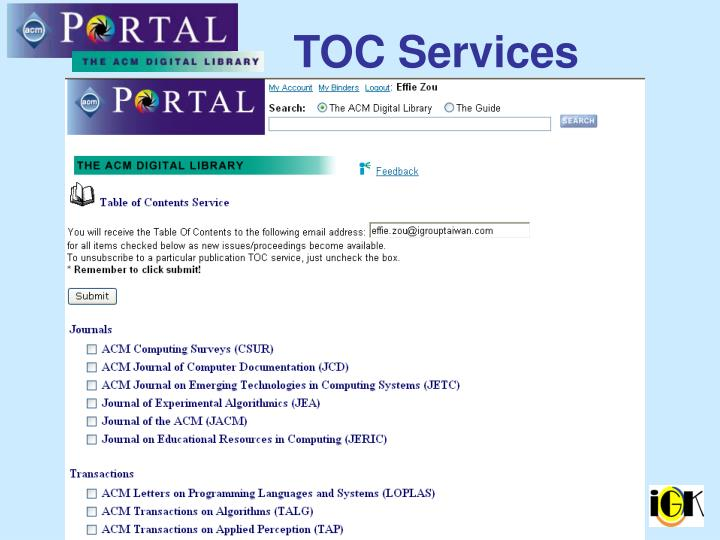 TOC Services