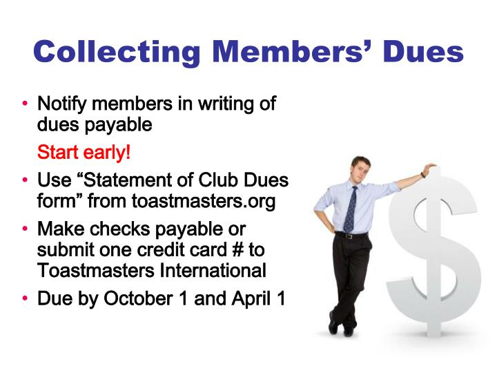 Collecting Members' Dues
