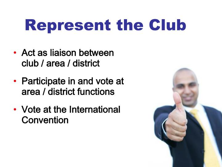 Represent the Club