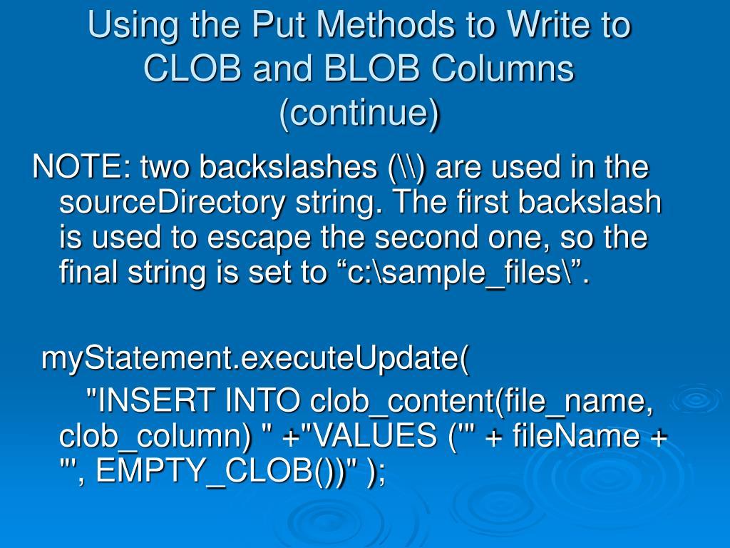 PPT - CS276 Advanced Oracle Using Java PowerPoint Presentation - ID