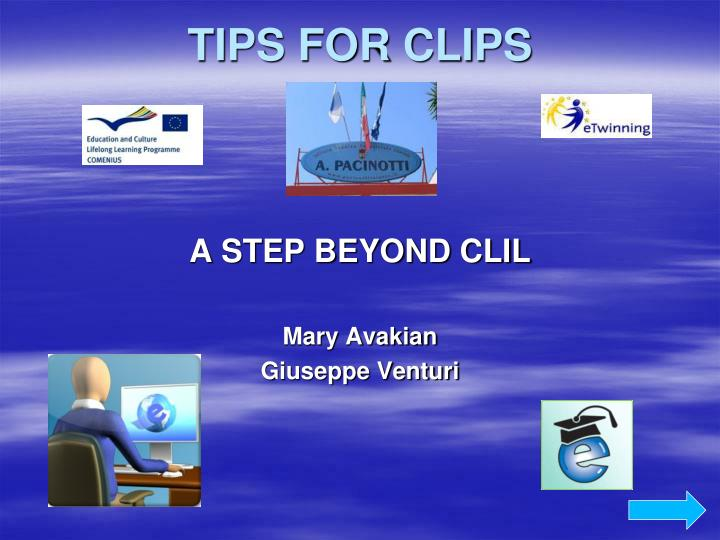 tips for clips n.