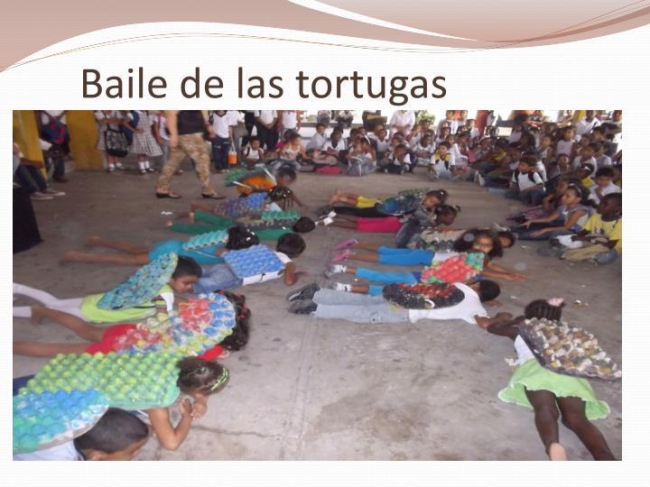 Baile de las tortugas