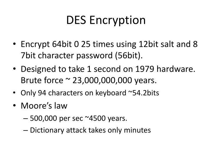 DES Encryption