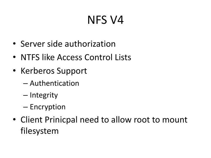 NFS V4