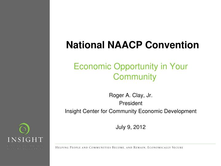 national naacp convention n.