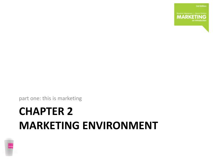 chapter 2 marketing environment n.