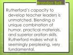 brandon bell