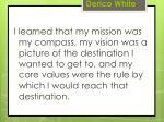derico white