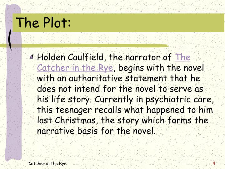 holden caulfield evaluation Understanding the catcher in the rye  the character of holden caulfield  parts and outline the steps necessary for students to develop a sound evaluation of a .