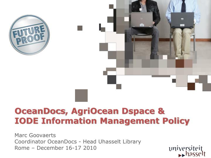 oceandocs agriocean dspace iode information management policy n.