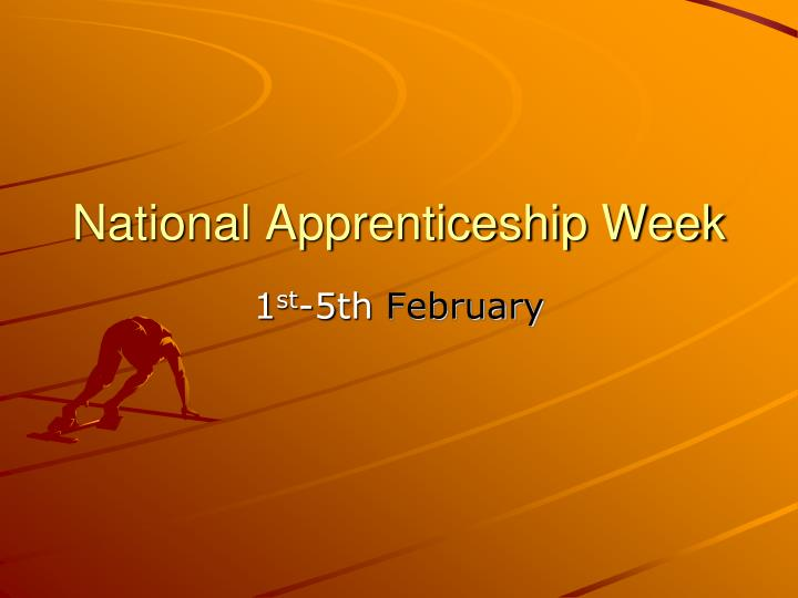 national apprenticeship week n.