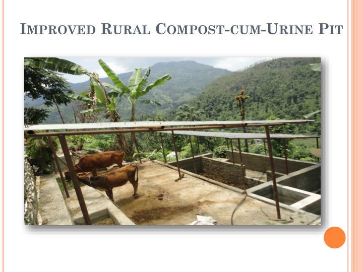Improved Rural Compost-cum-Urine Pit