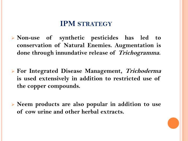 IPM strategy