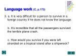 language work c p 1732