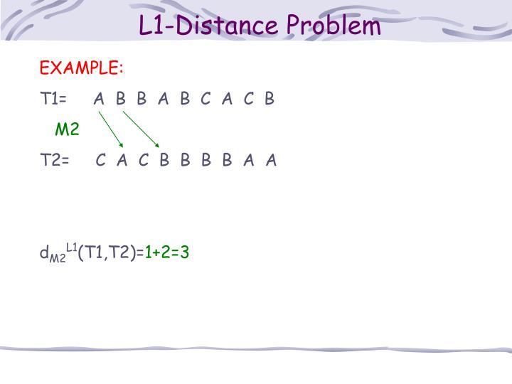 L1-Distance Problem