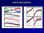 acis cc mode calibration3